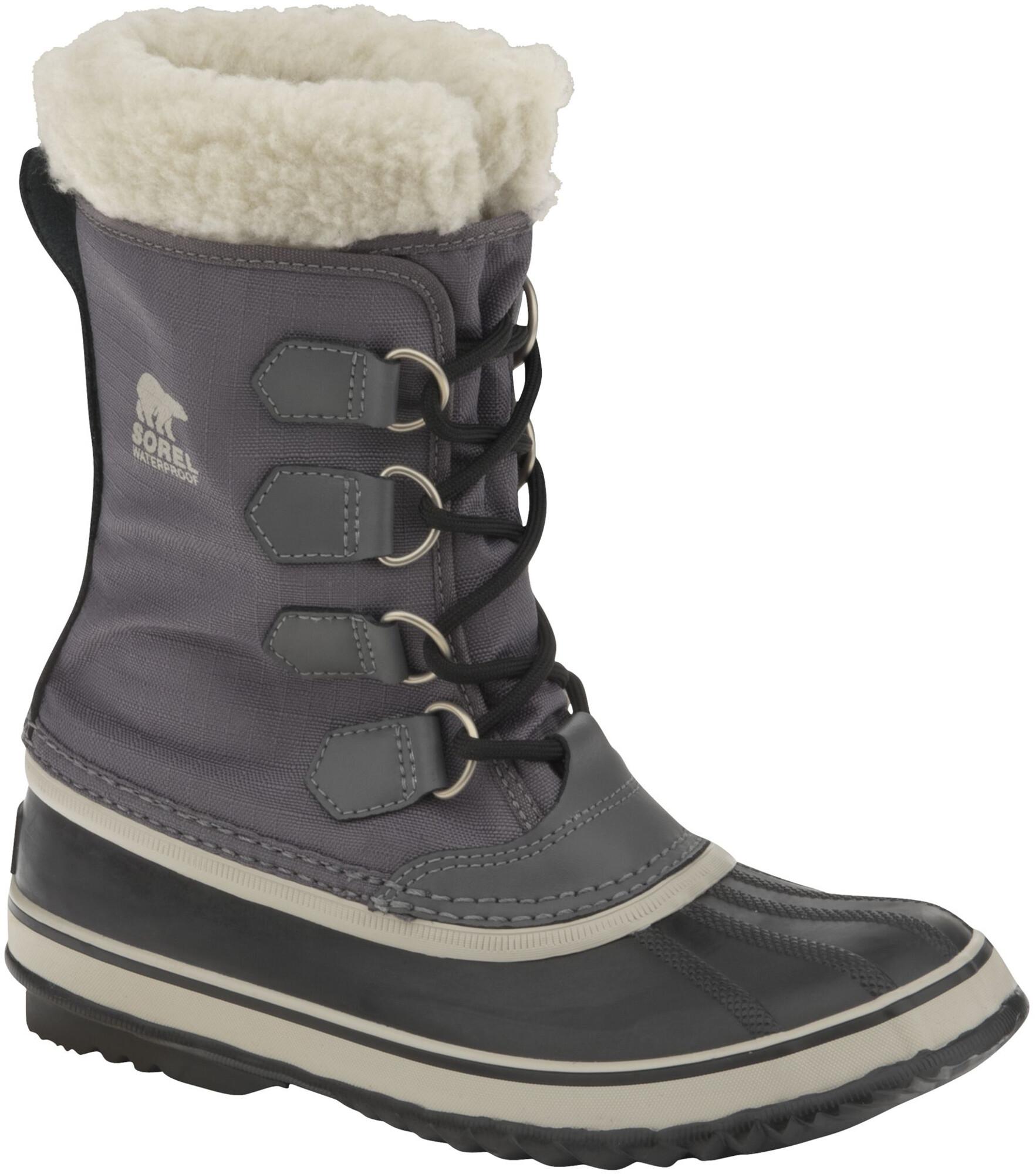0531fbcf Botas de invierno Sorel Winter Carnival gris/negro para mujer | Campz.es